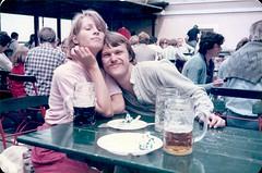 333 08 1982-05-29 Kloster Andechs - Wolf and Anne (Dennis Brumm) Tags: beer germany munich bayern bavaria 1982 bier andechs westgermany brd bundesrepublikdeutschland mnchen klosterandechs federalrepublicofgermany