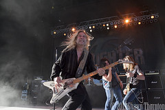 Slaughter - Freedom Hill Amphitheatre- Sterling Heights, MI - 8/23/13