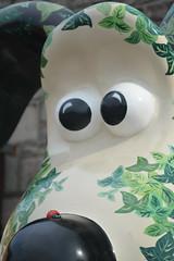 Ladybird on the Secret Garden Gromit (CoasterMadMatt) Tags: charity uk greatbritain summer england sculpture art english sarah garden photography artwork cross jane photos unitedkingdom britain farm secret united great models statues kingdom august somerset grace exhibition photographs british sculptures gromit secretgarden lye aardman unleashed sarahjane farmyard 2013 publicexhibition gromits sarahjanegrace coastermadmatt gromitunleashed lyecrossfarm