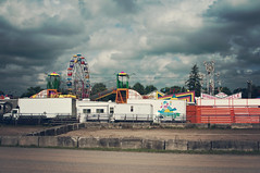 Behind the Fairgrounds (Jen Yeaman) Tags: county city ontario canada town day unitedstates state fairs labor statefair fair labour local agriculture countyfair gta laborday labourday agricultural township portperry