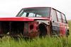 Wrecked Nissan Patrol (vetaturfumare - thanks for 2 MILLION views!!!) Tags: grass iceland rust nissan safari trailer wreck patrol skrot vrak skrotbil