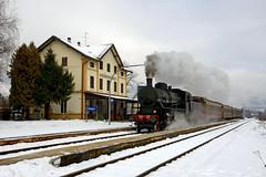 In transito a Roncegno (Paolo Brocchetti) Tags: paolobrocchetti gr740 roncegno valsugana neve stazione d800