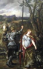 The Fair Saint George, by Sir John Gilbert (1881) (Snapshooter46) Tags: london artist dragon oilpainting guildhallartgallery sirjohngilbert princesssabra thefairsaintgeorge