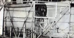 AL8_Douglas_000293 (San Diego Air & Space Museum Archives) Tags: douglaskelley airtech ryan sandiego aviation lindbergh spiritofstlouis cockpit instrumentpanel controlstick throttle fueltank aircraft airplane nx211 ryannyp wrightwhirlwind wrightj5whirlwind wrightj5 wrightj5cwhirlwind wrightj5c j5 j5c whirlwind aircraftmanufacturing