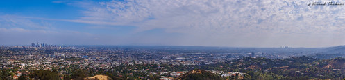 "Panoramic View of LA from Griffith Observatory • <a style=""font-size:0.8em;"" href=""http://www.flickr.com/photos/59465790@N04/17263196074/"" target=""_blank"">View on Flickr</a>"