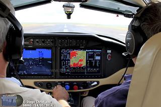 Voos demo Cessna TTx