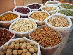Nuts at The market, Nizwa!
