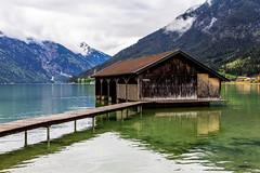Aachensee, Austria - 65 (www.bazpics.com) Tags: lake holiday alps green water austria see tirol town urlaub may mai alpine oesterreich 2015 aachensee at gemeindeebenamachensee
