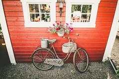 (c) Wolfgang Pfleger-8714 (wolfgangp_vienna) Tags: sweden schweden sverige waxholm vaxholm island stockholm schären wood wooden holzhaus red rot