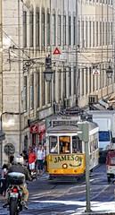 Jedziemy... (zbyszekski) Tags: tramwaj lisbona postugal 28 street city turystyka