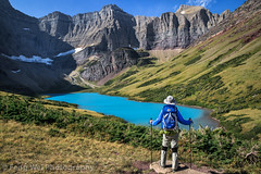 Cracker Lake Hike, Glacier National Park, Montana, USA (Feng Wei Photography) Tags: view usa landscape relaxing relax crackerlake landmark hiker glaciernationalpark outdoor breathtaking hike picturesque scenic color water vista nature scenery beautiful travel nationalpark stunning america outdoors glacier montana horizontal wilderness lake us