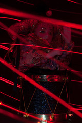 Light Painting (IncognitoImages) Tags: amaturephoto amaturephotographer amaturephotography amature jester porcelain doll drum light painting lightpainting twirl red redlights redtrail trail