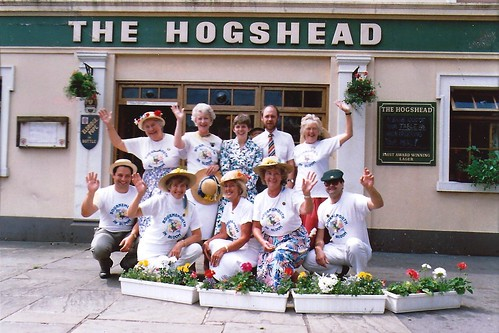 Hogshead 1995 by Rad Howard, in loving memory of Pat Howard