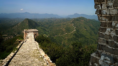 The Great Wall (JossieK) Tags: wall china beijing greatwall simatai gubeiwatertown landscape