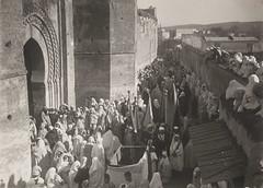 Maroc, 1910-1920. Fs. Fte des Aissaouas. Fte du Mouloud (Benbouzid) Tags:         festivity morocco maroc fete aissaoua