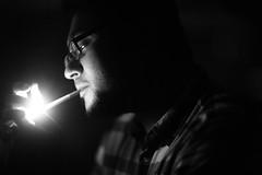 Parwaana Aashiq (N A Y E E M) Tags: aashiqdj farhaan barmate friend cigarette light fire smoke candid portrait baikalbar radissonblu hotel chittagong bangladesh sooc raw unedited untouched unposed availablelight indoors night waistlevel handheld