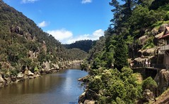 Tamar River - on the way to the gorge.