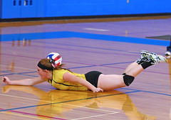 IMG_10400 (SJH Foto) Tags: girls volleyball high school lampeterstrasburg lampeter strasburg solanco team tween teen east teenager varsity dive action shot burst mode