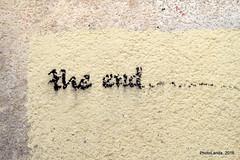 the end.... (Landahlauts) Tags: albaicin albaizin fujifilmxa2 fujinonxc50230mmf4567ois grafiti grafitti theend albayzin barrio granada reinoziri epocaibera albayyzn albayyzn carmen aljibe patrimoniodelahumanidad granadaislamica granadamusulmana alandalus district quarter andalucia andalusia andalusien      andalusi andalousie andalouzia andalusie andalusiya andaluzia andaluzio andaluzja  endulus