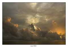 Solitude (Laurent Asselin) Tags: solitude ciel sunrise leverdesoleil soleil paysage nuages lumire guyane kourou