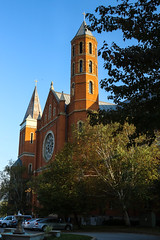 St Vincent's Archabbey transept (Lawrence OP) Tags: stvincents archabbey latrobe pennsylvania benedictine monastery tower brick