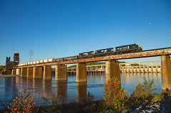 NS 3045 T88 Chattanooga TN 23 Oct 2016 (Train Chaser) Tags: