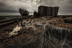 all that is left of yesterday (stocks photography.) Tags: michaelmarsh dungeness photographer photography coast coastal beach seaside kent cinematic allthatisleftofyesterday