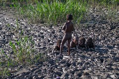 Asmat children
