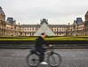IMG_2487 (RobinGrace1995) Tags: louvre bicycle france paris museum motion biker movement longexposure canon style architecture art thelouvre francia parís fall color symmetry