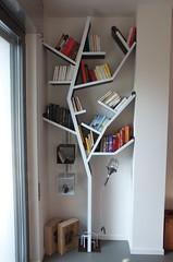 Cul3 (T-sign) Tags: bookshelf tree steel craft books ferro acciaio artigiano libreria albero forma libri magneti
