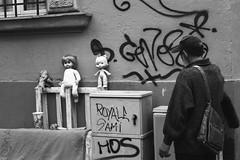 Paternit (Valerio Paolucci) Tags: bw roma italia bambole povert canon 7d 1855mm portrait blackandwhite mono streets people streetphotography