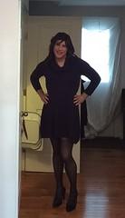 sweater dress1 (JenniferB!) Tags: crossdress crossdresser crossdressed cd crossdressing secretary stockings transgender tgurl tgirl tg tights trans gurl gurly gurlish girlygurl girly girlish girlygirl makeup pantyhose ladylike enfemme femme heels legs lipstick ootd officegurl pumps