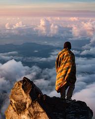 Magical sunrise (justinbastien) Tags: agung bali indonesia hiking mountain summit trekking