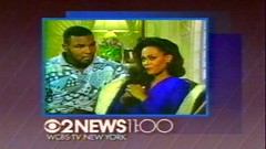 1988 - Bimper - WCBS-TV 2 New at 11 - Mike Tyson & Robin Givens (VideoArcheology) Tags: videoarcheology 1988 bimper wcbstv 2 new 11 mike tyson robin givens