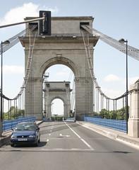 Pont suspendu du Port  l'Anglais - Vitry-sur-Seine - Ferdinand Arnodin (JP2H) Tags: bridge puente brcke france frankreich francia paris iledefrance seine sena