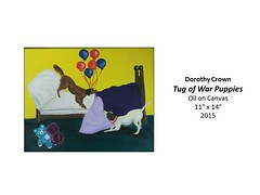 """Tug of War Puppies • <a style=""""font-size:0.8em;"""" href=""""https://www.flickr.com/photos/124378531@N04/30811297210/"""" target=""""_blank"""">View on Flickr</a>"""