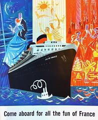 1950s Vintage Cruise Line Ad (Christian Montone) Tags: ads advertising vintageads adverts vintage print printads 1950s midcentury
