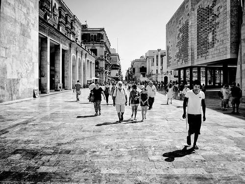 Tourists from Valletta