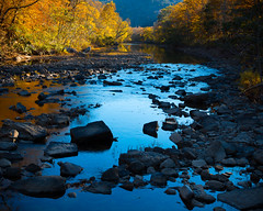 Fall on Big Piney (Arkfotog) Tags: rogerchavers arkfotog arkansas bigpineycreek nature outdoors outside outback country secluded rock water trees fallcolor creek