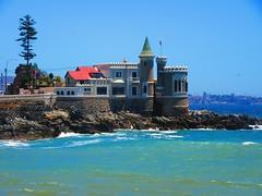 Mar,Castillo wulff,Via del Mar,Chile (Gabriel mdp) Tags: paisaje landscape mar oceano pacifico castillo wulff costa viadelmar chile contrastes
