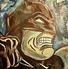Painting I did a few years ago on wood for a series. In a #Batman mood at the moment.  www.Etsy.com/Shop/ArtistAllysonAverell    #TheJoker #Joker #Smile #WhySoSerious #NeedAHand #BatmanFan #DC #detectivecomics #dccomic #comicbook #villian #batsy #thebatma (Ally Averell) Tags: comic suicidesquad gotham detectivecomics smile needahand arkham batmanfan joker comics batsy instaart villian bats thejoker putasmileonthatface dccomic gothamcity comicbook whysoserious batman arkhamasylum thebatman dc greenhair