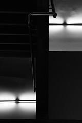 Symmetrical!? (Azz A.M.A) Tags: blackandwhite lights symmetrical shadow reverse