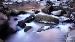 Low Levels (csnyder103) Tags: longexposure greenriver eveninglight flow northcarolina thenarrows tokina1628f28 canoneos6d fotodioxwonderpana