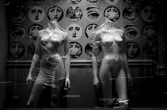 mannequin (Alla Romanova) Tags: film pentax 40mm blackwhite blackandwhite beauty mannequin plastic fornasetti