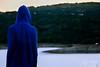 DSC_5538 (Anish_Krishnan) Tags: back person man male rear hood hoodie blue orange sky sunset sunrise lake pond ocean sea scenery landscape cinematic green yellow water overlook overlooking