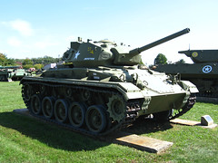 M24 Chaffee (Photo Squirrel) Tags: usarmyordnancemuseum aberdeenmaryland aberdeenprovingground military museum armoredvehicle armor tank lighttank m24