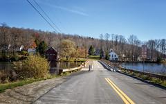 Brookfield Floating Bridge (Karol A Olson) Tags: floatingbridge brookfield vermont sunsetlake bridge lake nov16