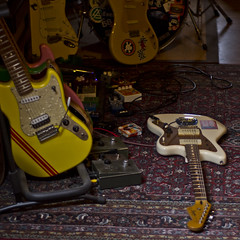 Jazzmasters Day (shortscale) Tags: guitar fender squier cyclone jazzmaster duosonic stratocaster pedal jmascis guitarlove
