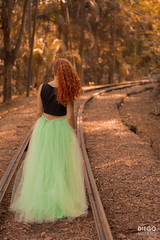 Nick-9 (Diego Oliveira Fotografo) Tags: orange green naturallight 50mm orangehair forest greenskirt canon campinas