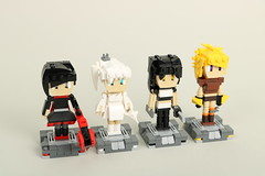 Team RWBY (toothdominoes) Tags: rwby lego moc rooster teeth